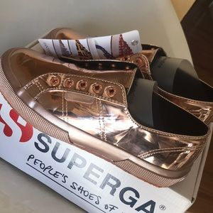 superga fashion sneakers size 6
